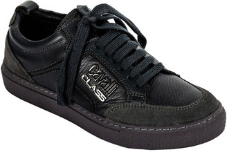 Roberto Cavalli Class Leather Sneaker