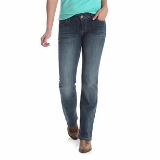Wrangler Authentics Women's Mid Rise Bootcut Jean