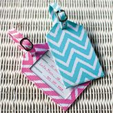 PBteen ZigZag Luggage Tags