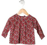 Jacadi Girls' Printed Long Sleeve Top