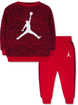 Jordan Baby Boys' 2-Pc. Jumpman Sweatshirt & Pants Set