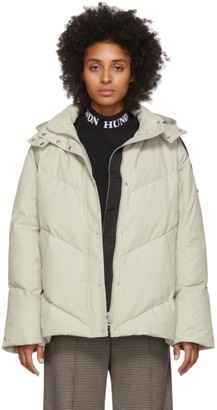 Won Hundred Off-White Down Elisabeth Jacket