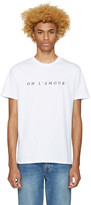 A.P.C. White oh Lamour T-shirt