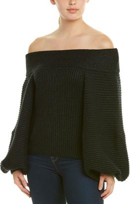 Oscar de la Renta Wool-Blend Sweater