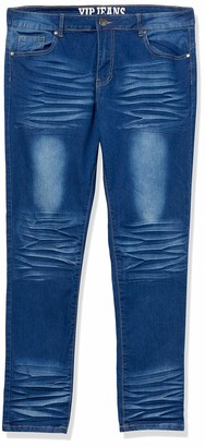 Cover Girl Women's Five Pocket Classic Blue Wash Slim Fit Skinny 9
