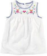 Carter's Embroidered Tank Top, Little Girls (2-6X) and Big Girls (7-16)