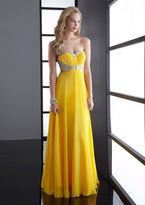Jasz Couture - 4522 Dress in Yellow