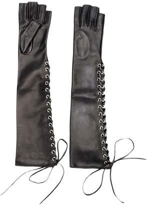 Manokhi long laced gloves