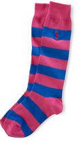 Ralph Lauren 7-16 Rugby Knee-High Socks