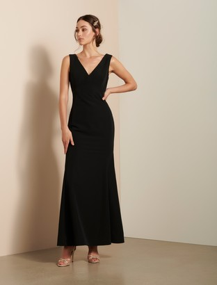 Forever New Aria Maxi Dress - Black - 10