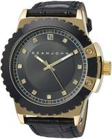 Sean John Men's 10030887 Genuine Diamond Analog Display Japanese Quartz Watch
