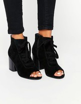 Asos Ressin Suede Lace Up Boots
