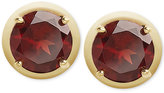 Townsend Victoria Garnet Stud Earrings in 18k Gold over Sterling Silver (5 ct. t.w.)
