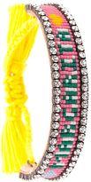 Shourouk 'Margarita' tassel bracelet