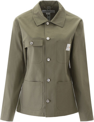 A.P.C. Jacket With Logo Patch