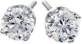 JCPenney FINE JEWELRY 1/4 CT. T.W. Diamond Stud Earrings 14K White Gold