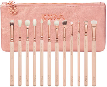 Zoeva Rose Golden Complete Eye Brush Set (Vol. 2)