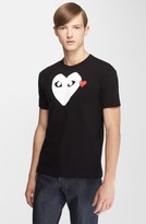 Comme des Garcons Men's X-Ray Heart Logo T-Shirt