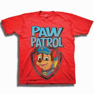 Nickelodeon Toddler Boys Graphic Tees Boys Crew Neck Short Sleeve Paw Patrol Graphic T-Shirt-Toddler