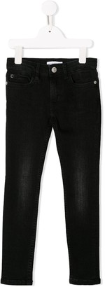 Calvin Klein Kids Faded Style Jeans