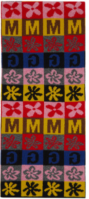Molly Goddard Multicolor Vinnie Checkerboard Scarf