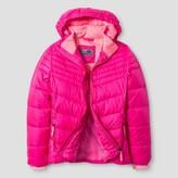 Champion Girls' Puffer Jacket - Pink