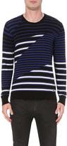 Diesel K-Volucer cotton-jersey jumper
