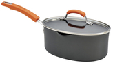 Rachael Ray Non-Stick Covered Oval Saucepan