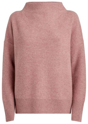 Vince Cashmere Funnel-Neck Sweater