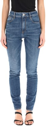 ATTICO High-Rise Skinny Jeans