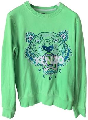 Kenzo Green Cotton Knitwear for Women