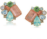 Carolee Cosmopolitan Club Clip-On Button Earrings
