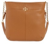 Tory Burch Ivy Swingpack Leather Hobo - Brown