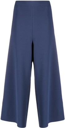 Stella McCartney Cut-Out Loose Culottes