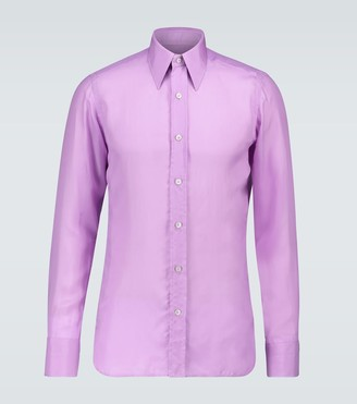 Tom Ford Exclusive to Mytheresa - slim-fit shirt with side panels