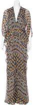 Issa Printed Maxi Dress