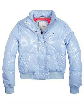 Tommy Hilfiger High Shine Boxey Puffer Jacket (Girls 3-7 Years)