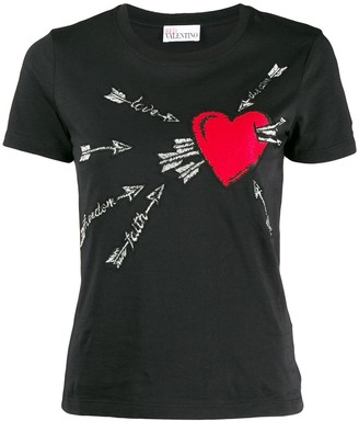 RED Valentino heart T-shirt