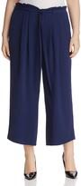 MICHAEL Michael Kors Tie-Waist Gaucho Pants