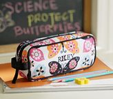 Pottery Barn Kids Mackenzie Black Butterfly Pencil Case