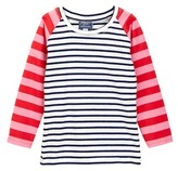 Toobydoo Miki Long Sleeve Striped Tee (Toddler, Little Girls, & Big Girls)