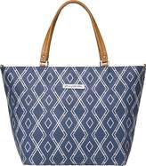 Petunia Pickle Bottom Altogether Tote Diaper Bag in Indigo by
