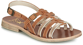 Catimini NOBO girls's Sandals in Brown
