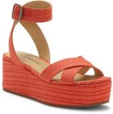 Lucky Brand Bikaro Ankle Strap Platform Sandal