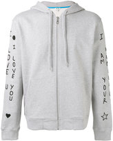 Kenzo I Love You hoodie - men - Cotton/Polyester - XS