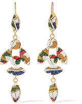 Isabel Marant Gold-tone Resin Earrings