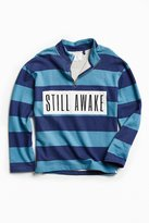 Urban Outfitters UO Still Awake Half-Zip Mock Neck Sweatshirt