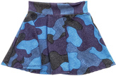 Rock & Candy Rock Candy Blue Camo Skirt