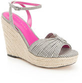 Trina Turk Striped Wedge