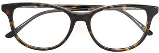 Bottega Veneta Round Framed Glasses